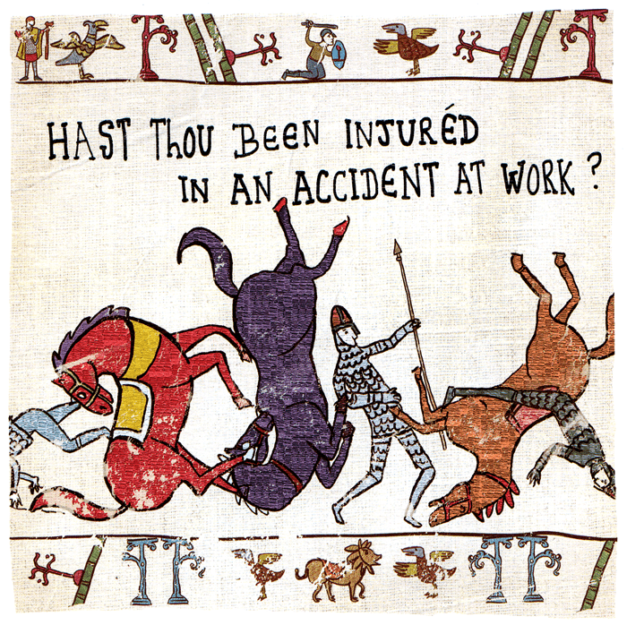 Funny Cards - Been Injured In An Accident At Work?