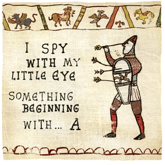 Funny Cards - I Spy With My Little Eye