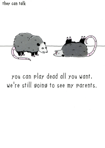 Funny Cards - Still Going To See My Parents