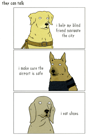 Dog-I eat Shoes