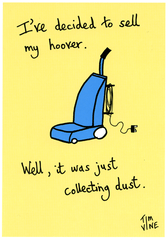 Funny Cards - Hoover - Just Collecting Dust