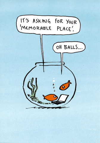 Memorable Place - Goldfish