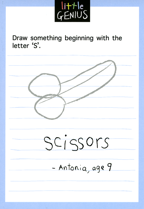 Funny Cards - Something Beginning With Letter S