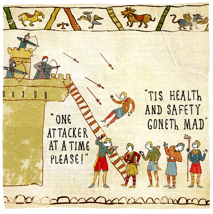 Funny Cards - Health And Safety Gone Mad