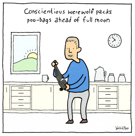 Conscientious werewolf