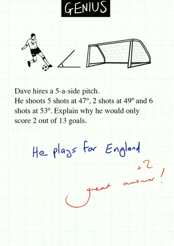 Funny Cards - Plays For England