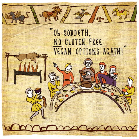 No Vegan options