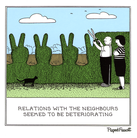 Relations with the neighbours