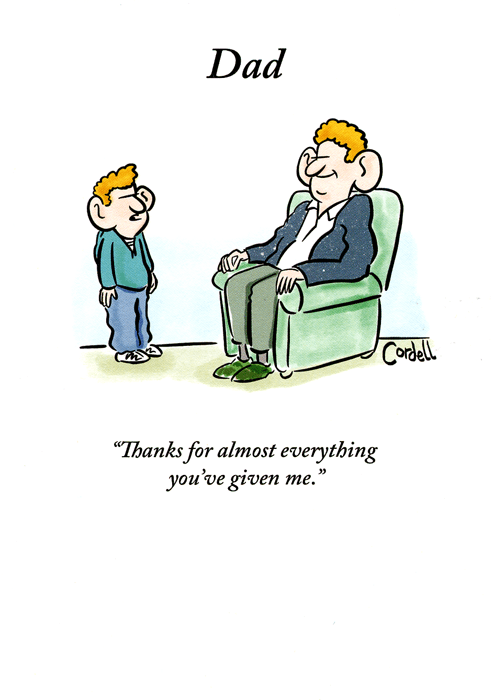 Funny Father's Day Cards - Dad, Thanks For Almost Everything