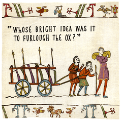 Funny Cards - Furlough The Ox