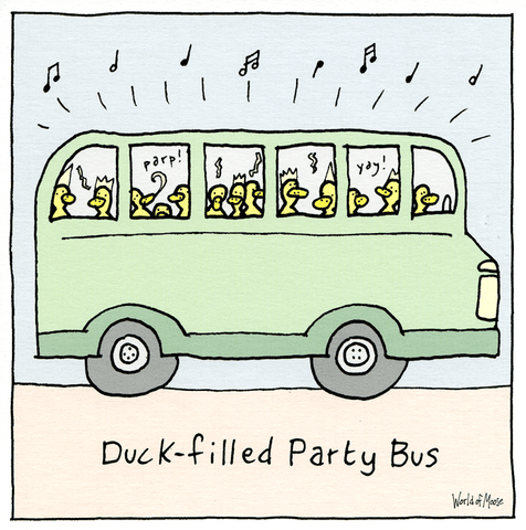 Duck-filled Party Bus