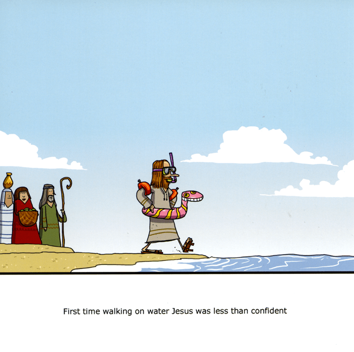 Funny Cards - First Time Walking On Water