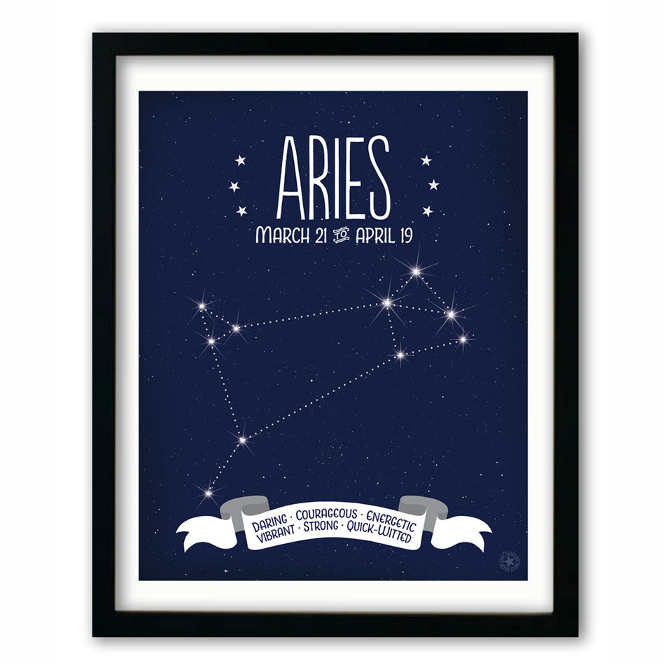 Aries • Constellation Print