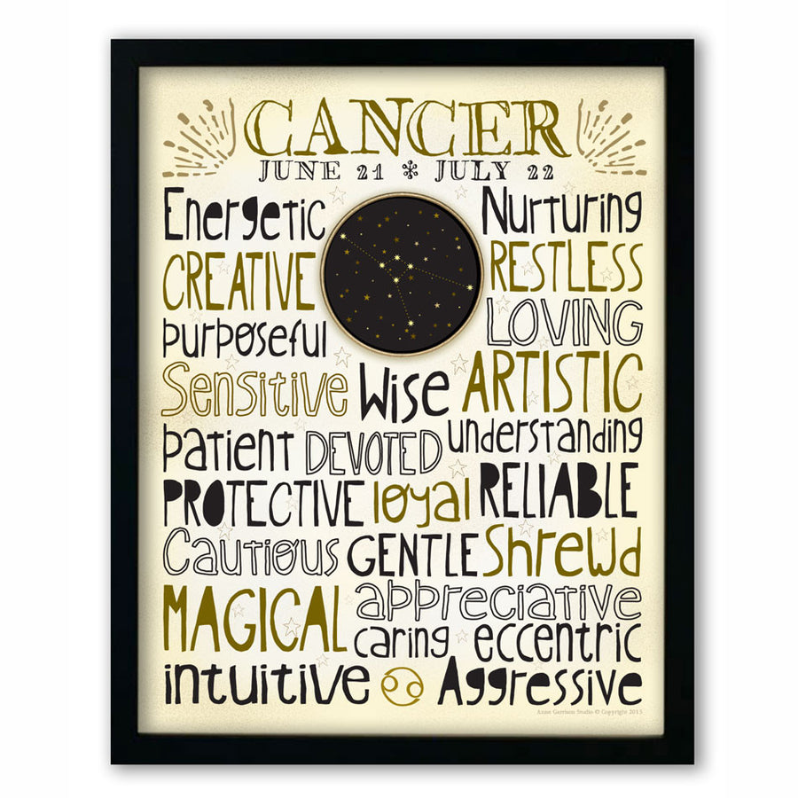 Cancer • Zodiac Print