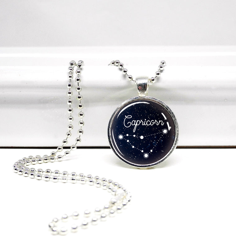 Capricorn Constellation Pendant