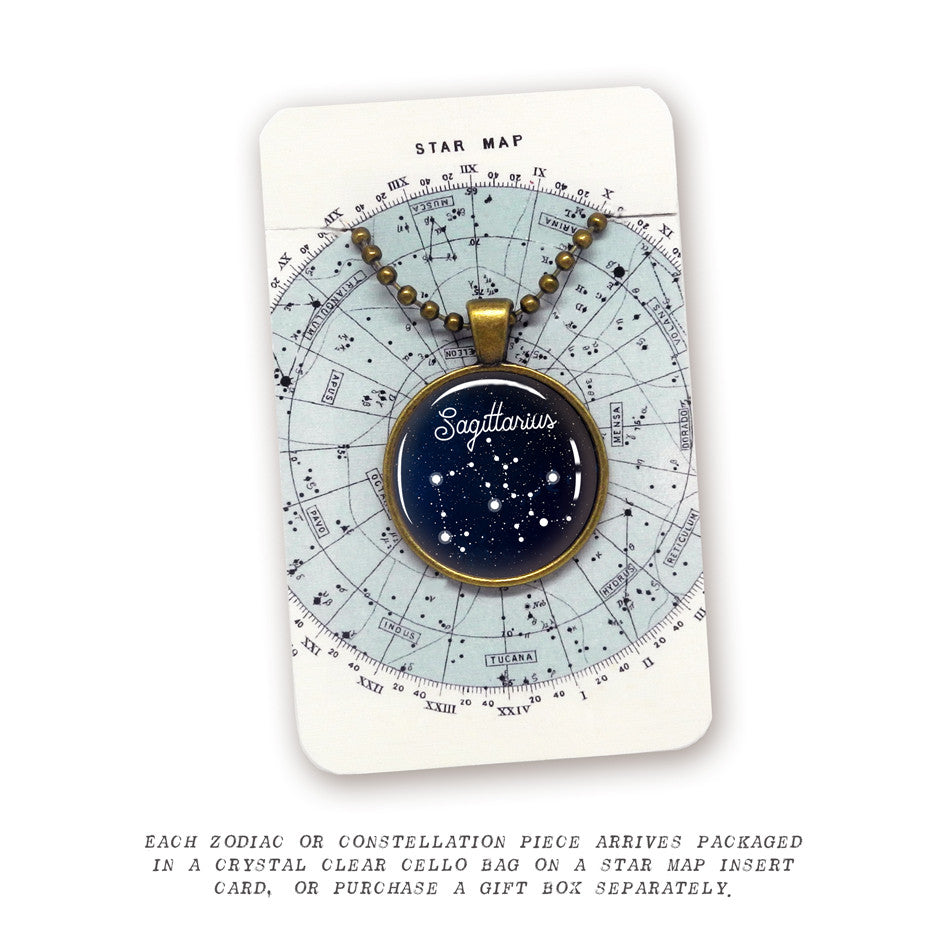Scorpio Constellation Pendant
