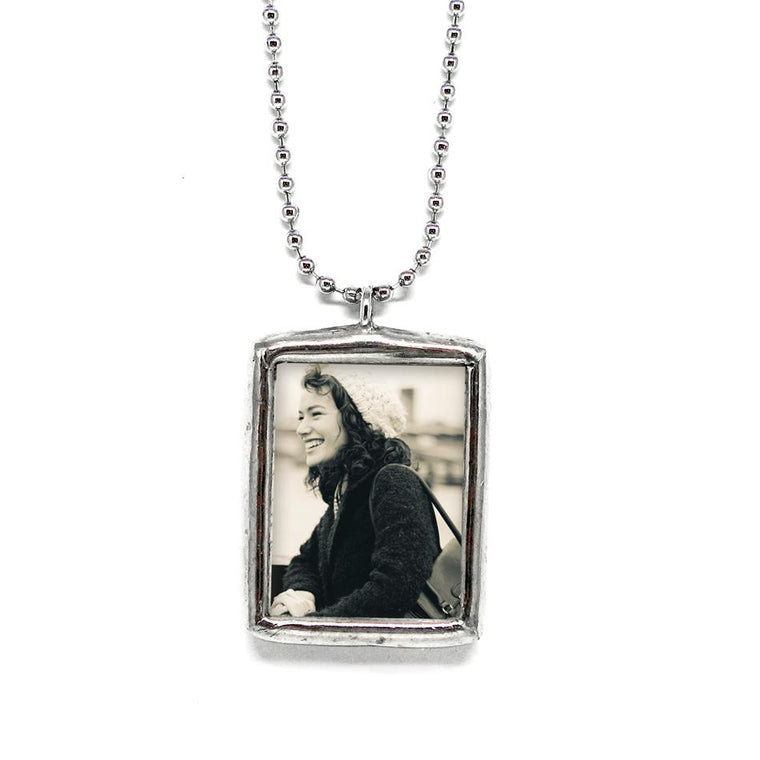 Custom Keepsake Photo Pendant