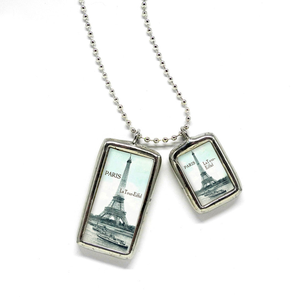 Paris 1910 • Soldered Glass Pendant