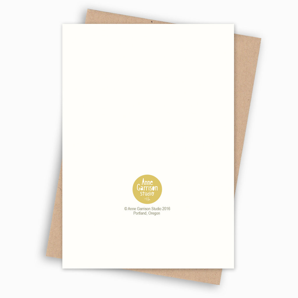 Virgo Zodiac Blank Greeting Card