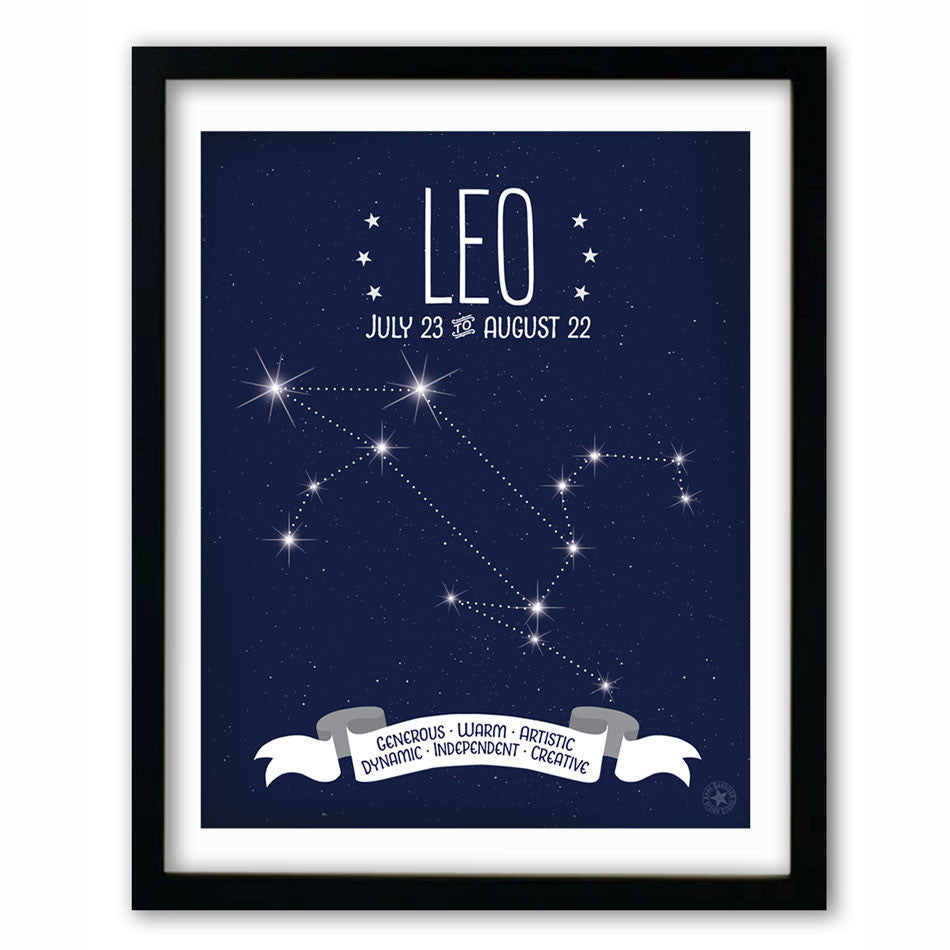 Leo • Constellation Print
