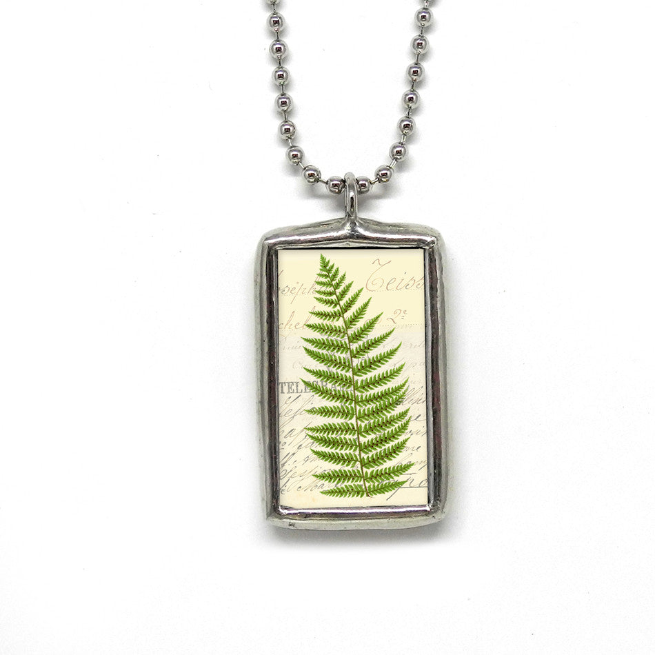Fern Botanical • Pendant For Nature Lovers