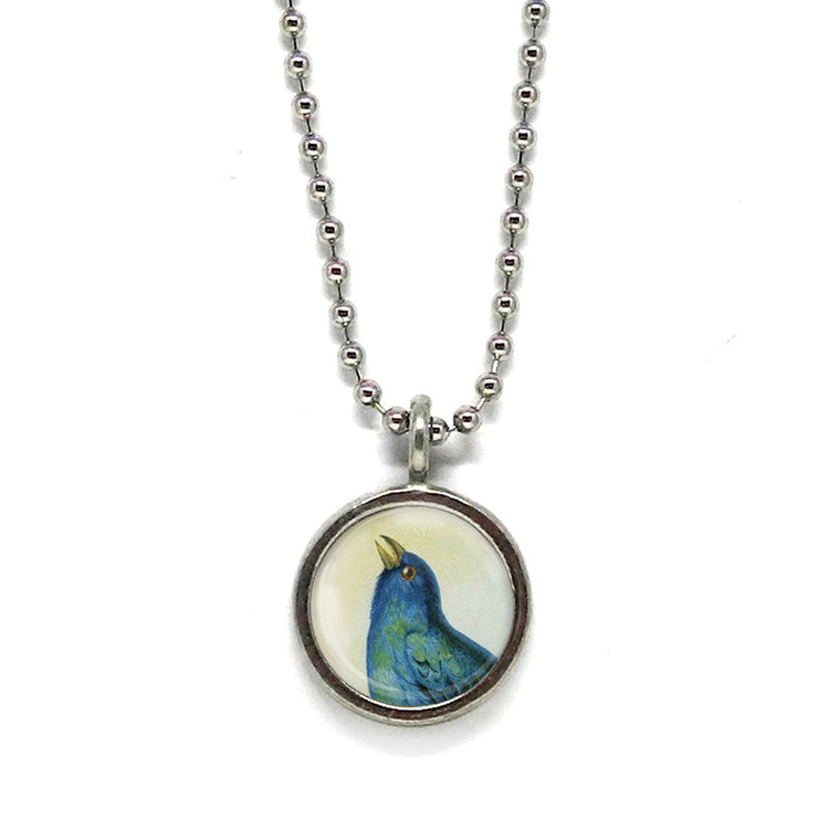 Songbird Pendant • Choose a Message