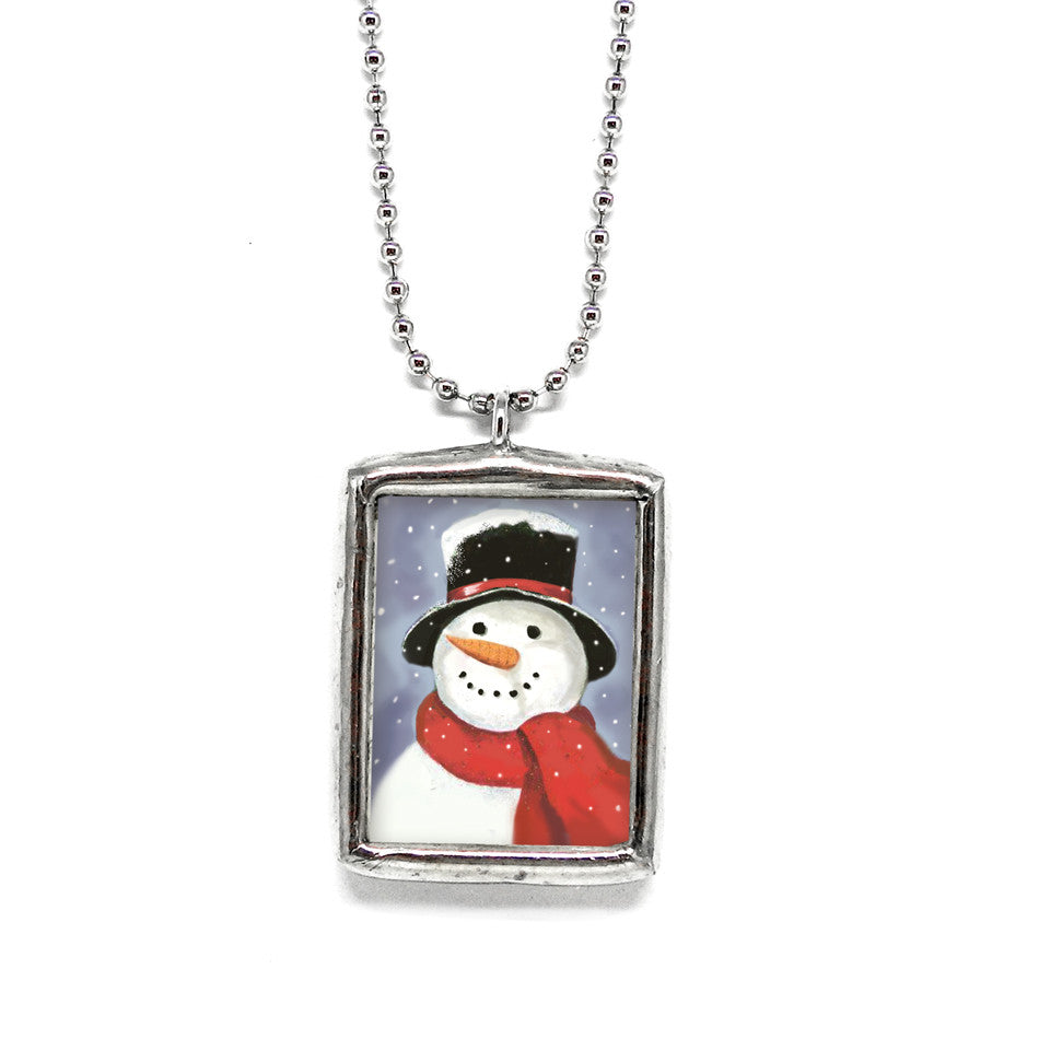 Snowmen Are Cool • Winter Fun Pendant