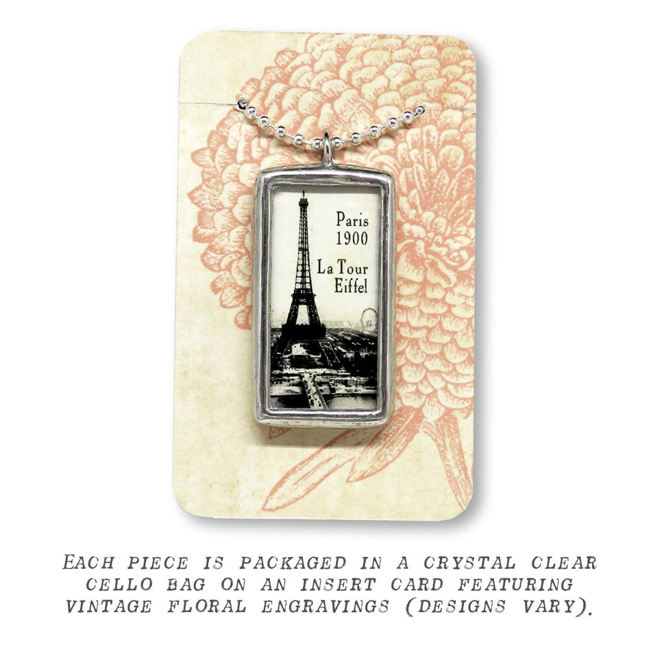 Best Friends Forever • Soldered Glass Pendant