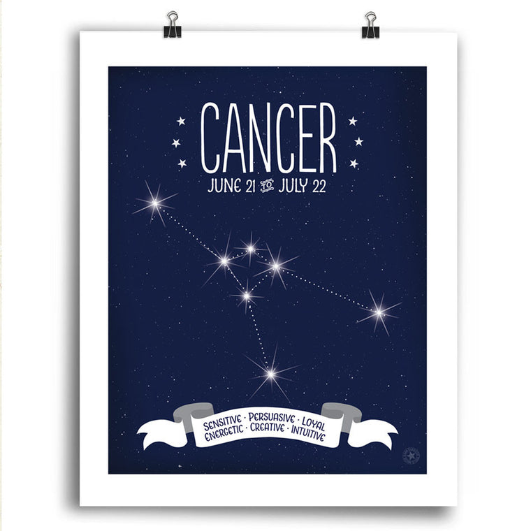 Cancer • Constellation Print