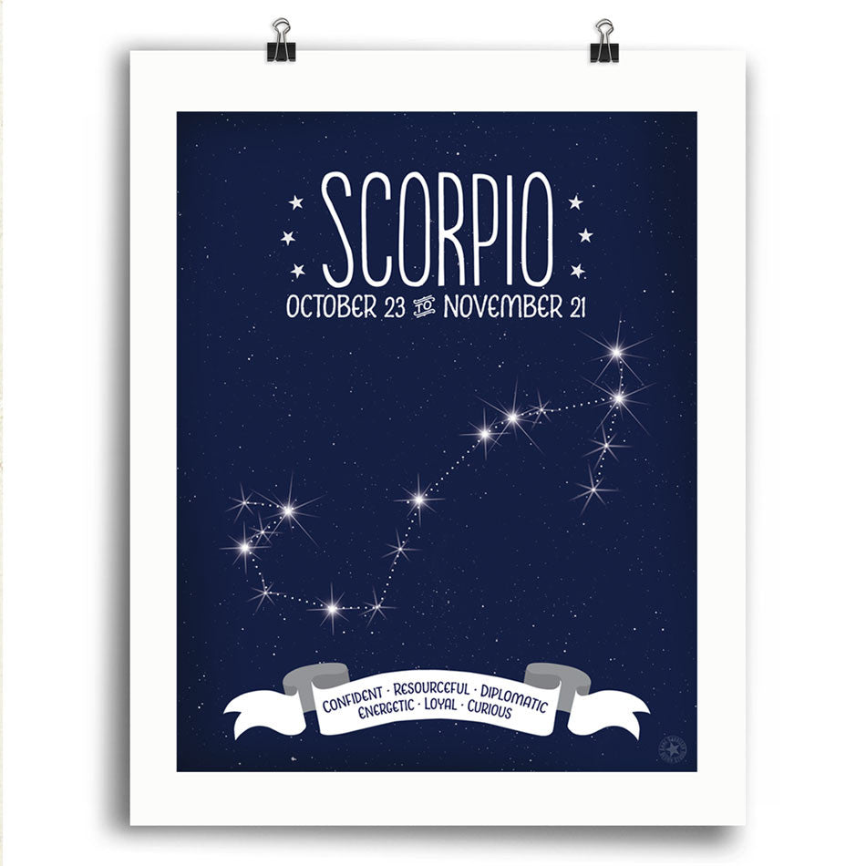 Scorpio • Constellation Print