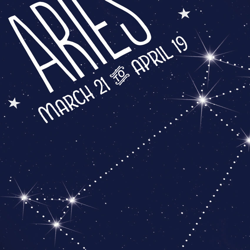 Aries • Constellation Print - Anne Garrison Studio