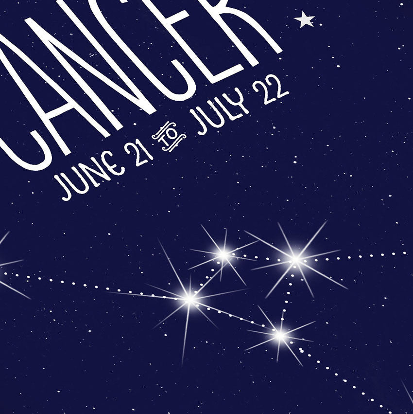 Cancer • Constellation Print - Anne Garrison Studio