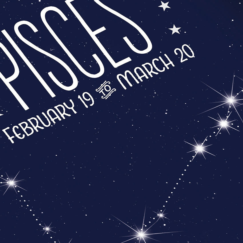 Pisces Constellation Close Up