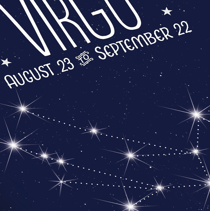Virgo Constellation Close Up