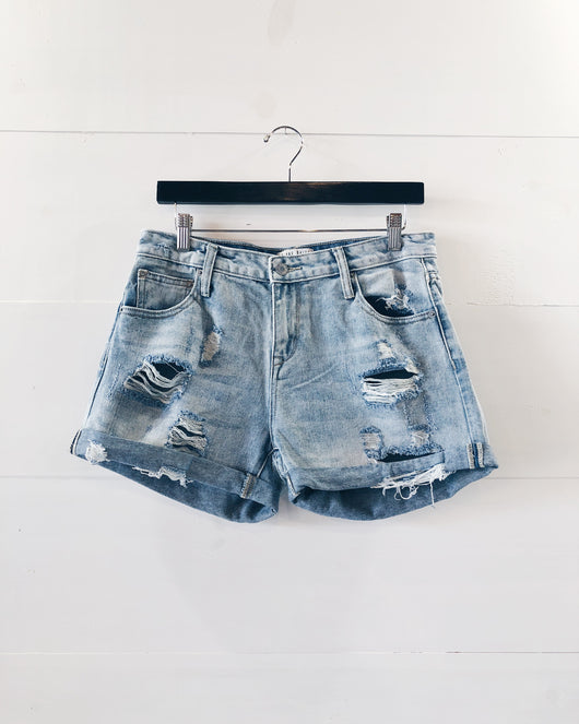 Colbie Distressed Boyfriend Shorts
