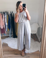 Brinley Soft Striped Jumpsuit