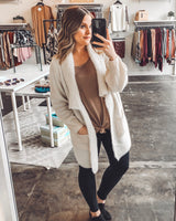 Mona Long Body Cardigan