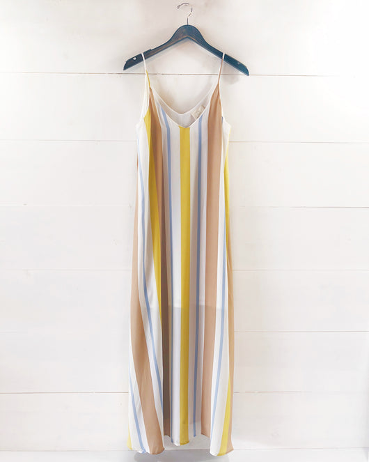 Spencer Vertical Stripe Maxi