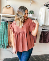 Hensley Baby Doll Blouse