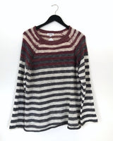 Cannon Ombre Stripe Sweater