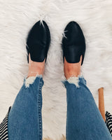 Mandy Black Loafers