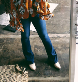 Jane Medium Wash Bell Bottoms