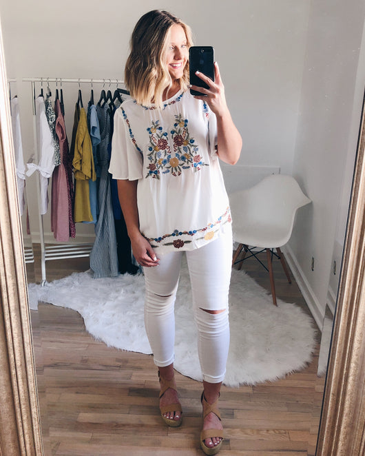 Malina Embroidered Blouse