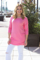 Perfectly Imperfect Top - Pink