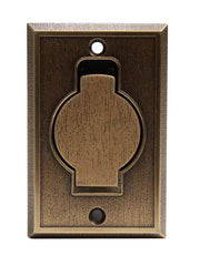 Faceplate Metal - Bronze