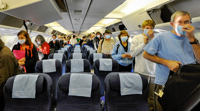 Jane's Blog Germs on a Plane! Increase Your Protection!
