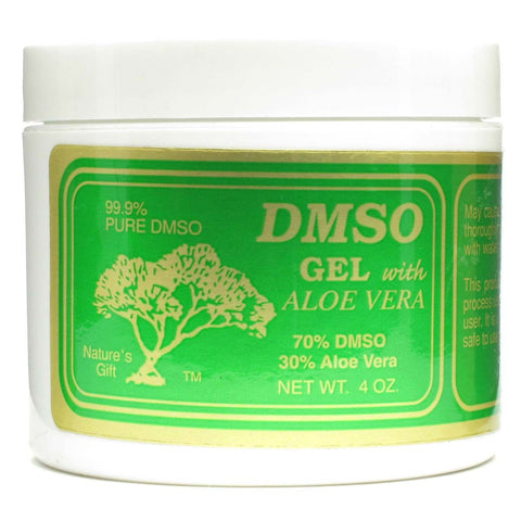 DMSO 70% Gel w/ Aloe Vera (4 oz. jar)