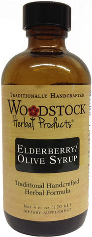 Elderberry Olive Syrup
