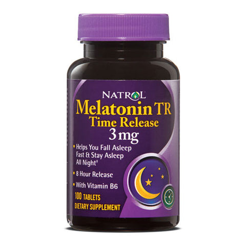 Melatonin 3mg Time Release tablets