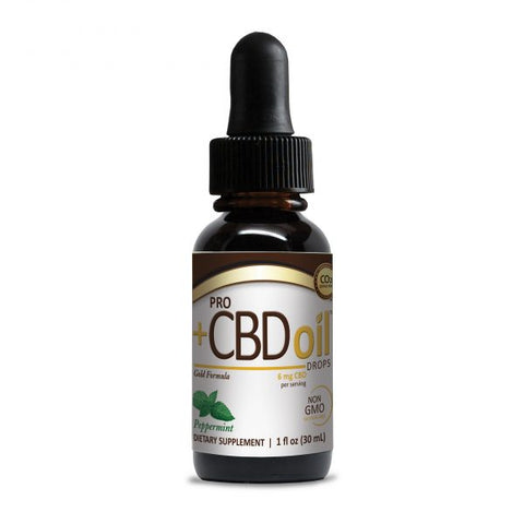Pro PlusCBD oil 6 mg drops peppermint